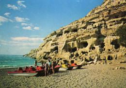 The Shore. Matala - Crete - Greece