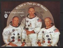 Virgin Islands (1989) Yv. Bf. 57  /  Espace - Space - Planet - Astronaut - Spaceship - Satellite - Espace