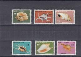 Wallis Et Futuna - Année 1984 - Coquillages - YT 312/317 - Neufs** - Wallis En Futuna