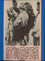 SCOUTISME - ARTICLE DE JOURNAL 1957 Collé Sur Feuille - SUTTON PARK - Vieux Papiers
