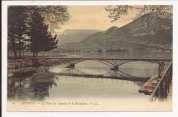 Annecy : Le Pont Des Amours - Annecy