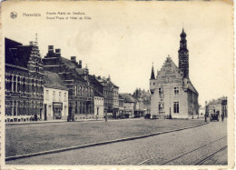 Herentals Groote Markt En Stadhuis - Herentals