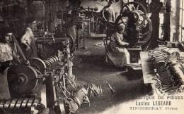 TINCHEBRAY -Ets Lucien  Legeard Fabrique De Pièges (photo Famille Legeard) - Otros Municipios