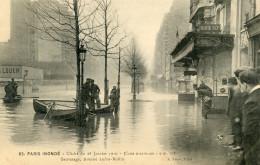 75  PARIS INONDATIONS 1910   SAUVETAGE AVENUE LEDRU ROLLIN - Alluvioni Del 1910