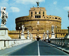 Ponte E Castel S. Angelo - Sant' Angelo Bridge And Castle - Roma