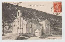 ROCHEMAURE (07) - L'EGLISE - Rochemaure