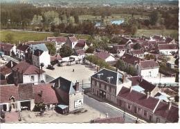 25784 En Avion Au Dessus De Saint St Julien Sur Cher Place Aerienne -IK Ed Sofer-colorisée -publicite Caltex