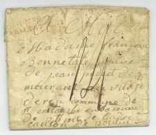 No. 34 ARM. D'ITALIE - Bologna Pour La France 1806 - Armée D'Italie - Marcophilie (Lettres)