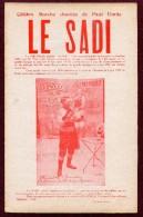 """FERNAND LE BOUCHER  (CULTURE PHYSIQUE)  :"""" LE SADI """"  Par PAUL EMILE  ( Chaumont )  1926 - Gymnastique"""
