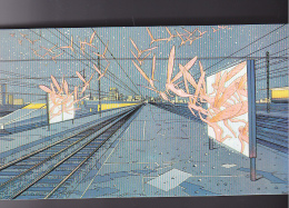 Chemin De Fer - France Rail Vu Par Moebius - Service TGV -bande Dessinee BD Gare