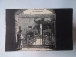 SPAIN ESPANA ESPAÑA ESPAGNE BURGOS LA CARTUJA DE MIRAFLORES PATIO DEL PORTICO 1910 YEARS POSTCARD - Burgos