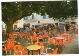 CPM    COSTA BRAVA    SANT MIQUEL DE COLERA       PLAZA MAYOR        CAFE EN TERRASSE - Gerona