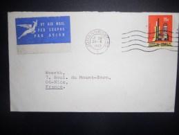 Afrique Du Sud Lettre De Johannesburg 1969 Pour Nice - Afrique Du Sud (1961-...)