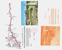 2 Tickets D'entrée Sur Parking / Taxe De Stationnement ( Baux De Provence & Fontaine De Vaucluse ) - Tickets D'entrée