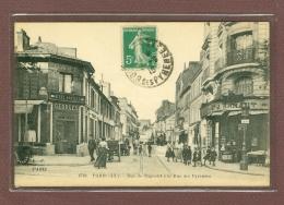 PARIS 20ème - RUE DE BAGNOLET A LA RUE DES PYRENEES - CAFE GEORGES - Distrito: 20
