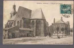 RENWEZ . L'Eglise Et La Mairie . - Other Municipalities
