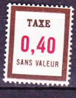 Frankreich France - Fictifs Nachportomarke/postage Due/timbres-taxe (Yvert FT24) 1972/85 Postfrisch MNH - Ficticios
