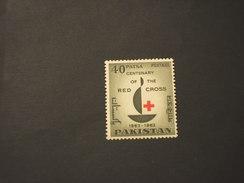 PAKISTAN - 1963 CROCE ROSSA - NUOVO(++) - Pakistan