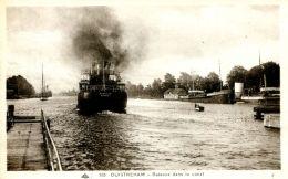 """N°328 E -cpa Ouistreham -le """"Ranville"""" Dans Le Canal- - Commerce"""