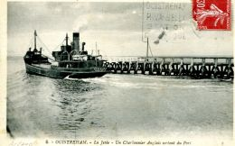 "N°330 E -cpa Ouistreham -un Charbonnier Anglais ""Waersider"" - Commerce"