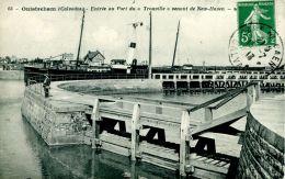 """N°337 E -cpa Ouistreham  -entrée Du """"Trouville"""" Venant De New Haven- - Commerce"""