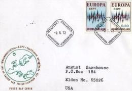 FINLANDIA - FDC EU 1972 - Europa-CEPT