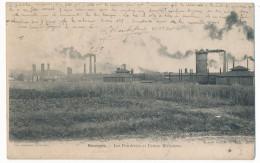 CPA 18 Bourges - Les Fonderies Et Usines Militaires   Carte Pionnière - Bourges