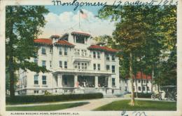 US MONTGOMERY / Alabama Masonic Home / CARTE COULEUR - Montgomery