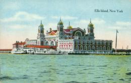 US NEW YORK CITY / Ellis Island / CARTE COULEUR - Ellis Island