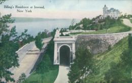 US NEW YORK CITY / Billing's Residence At Inwood / CARTE COULEUR - Ellis Island