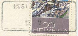 1503 - 6951 CARNAGO 10.V.75 - Aushilfstempel Auf Ansichtskarte - Marcophilie