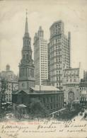 US NEW YORK CITY / Saint Paul's Group / CARTE COULEUR GLACEE - New York City