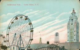 US NEW YORK CITY / Steeplechase Park, Coney Island / CARTE COULEUR - New York City