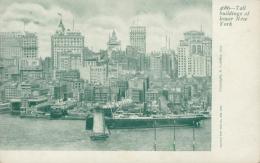 US NEW YORK CITY / Tall Buildings Of Lower New York / - New York City
