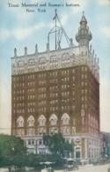 US NEW YORK CITY / Titanic Memorial And Seaman's Institute / CARTE COULEUR - New York City