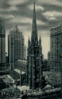 US NEW YORK CITY / Trinity Church / CARTE GLACEE - New York City