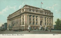 US NEW YORK CITY / U.S Custom House / CARTE COULEUR - New York City