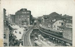 US NEW YORK CITY / Vue Intérieure Et Le Tramway / - New York City