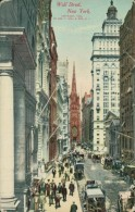 US NEW YORK CITY / Wall Street / CARTE COULEUR GLACEE - Wall Street