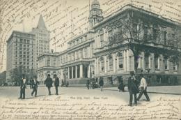US NEW YORK CITY / The City Hall / - New York City