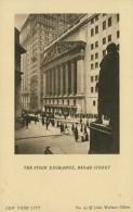 US NEW YORK CITY / The Stock Exchange, Broad Street / - New York City