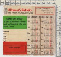 CALENDARIO FORMATO PICCOLO 1965 IL PANE S. ANTONIO BOLOGNA CHISA S. CROCE - Calendari