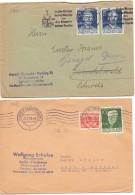 1954 E 1955 Due Lettera Dalla Germania -012 - Non Classificati
