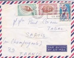 PAR AVION AIR MAIL NOUVELLE CALEDONIE  BELLE LETTRE - Luftpost