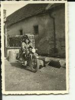MOTO, MOTORCYCLE  --     ORIGINAL PHOTO  8,5 Cm X 6  Cm - Fotos