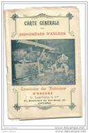 Carte Générale Des Ardoisières D'Angers - Cartes