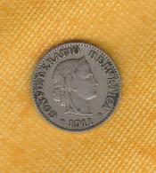 Switzerland 5 Rappen 1911 - Schweiz
