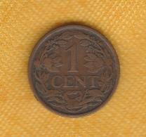 Netherlands 1 Cent 1929 - 1 Cent