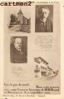 THOIRY HOTEL LEGER ENTREVUE HISTORIQUE DE BRIAND ET STRESEMANN 12 SEPTEMBRE 1926 GUERRE POLITIQUE YVELINES - Thoiry