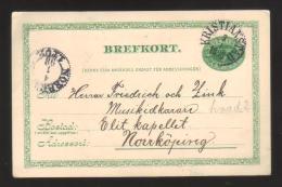 7644- Sweden , Sverige , Post Card - Postal Stationery - Postal Stationery
